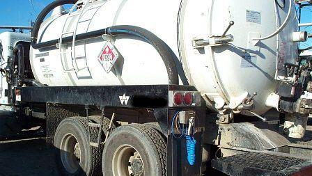 Investigators say a chemical transport similar to the one pictured here may have been used in an illegal dumping incident into a grease trap behind a Food Lion grocery store on West Sugar Creek Road.