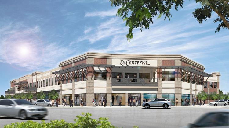 Phase III of LaCenterra includes retail and office space.