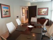 A new conference room at Carpenter Legal Search on Fifth Avenue in Pittsburgh.