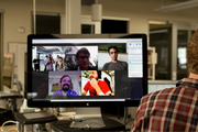 Remote employees can stay tuned in to office happenings.