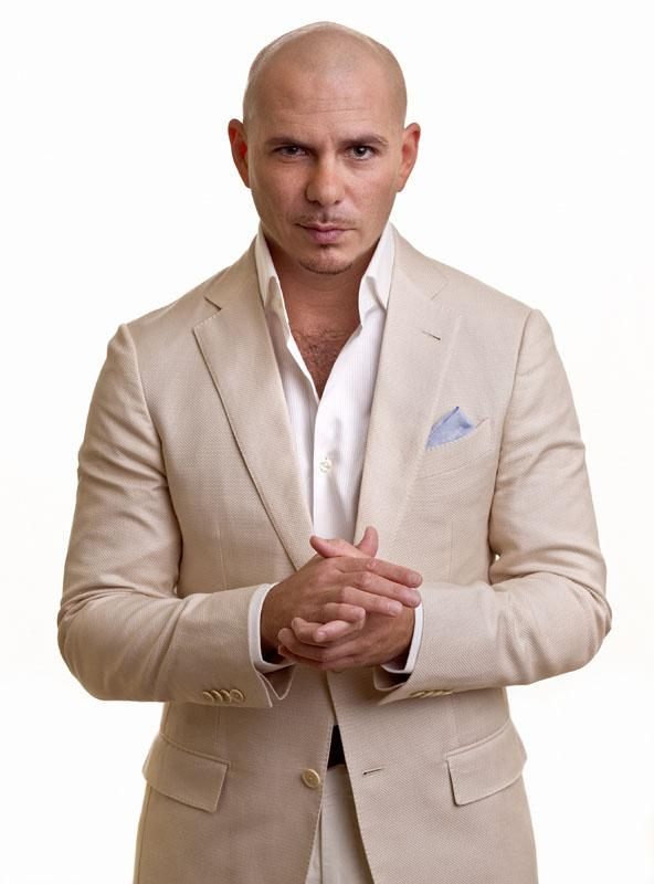 Rapper Pitbull will headline this year's Preakness InfieldFest on May 18.