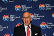 Tampa International Airport CEO Joe Lopano at the announcement.