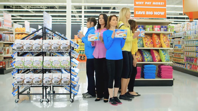 Breakdancing moms star in Big Lots' new online video from O'Keefe Reinhard & Paul/Chicago ad shop.