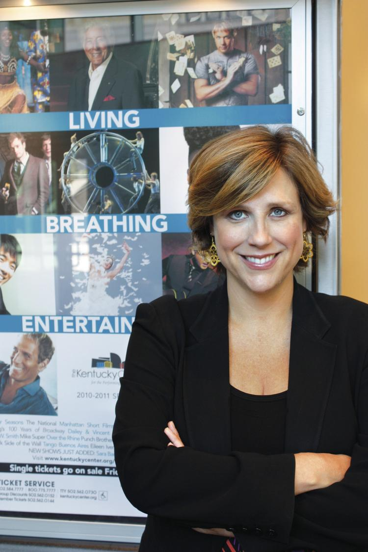 Kim Baker has been named president of The Kentucky Center for the Performing Arts.