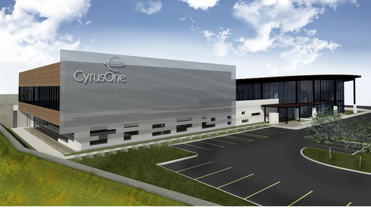 A rendering of CyrusOne's planned data center in San Antonio. CyrusOne's new data center joins several already developed by other companies in Westover Hills.