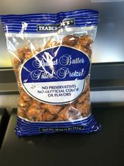 A Trader Joe's favorite, peanut butter filled pretzels are one of their most popular items.