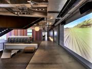 """Our central screening room, known as Atlantis, is a place where we can come together to view our pioneering work and industry innovations or sometimes just laugh at the latest YouTube video."" -- Perry Fair, JWT Atlanta"
