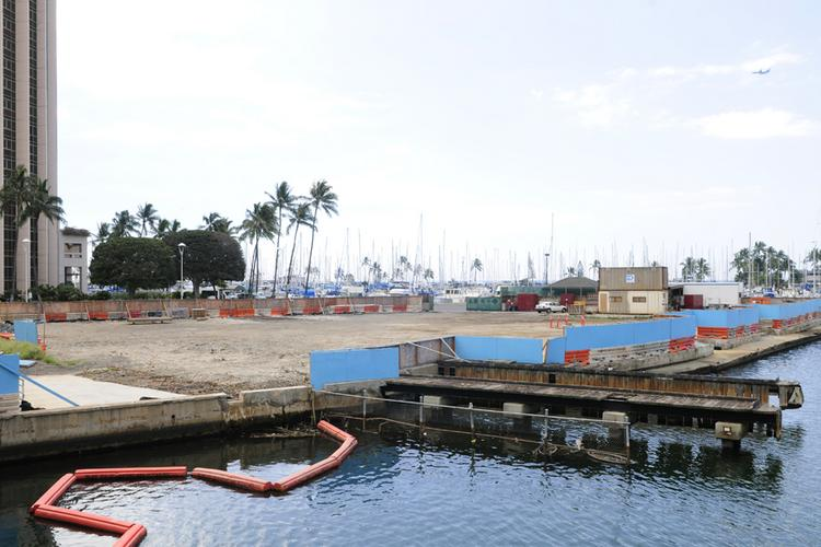 Construction on the Waikiki Landing is expected to begin on May 5 on the $31 million redevelopment part of the Ala Wai Small Boat Harbor.