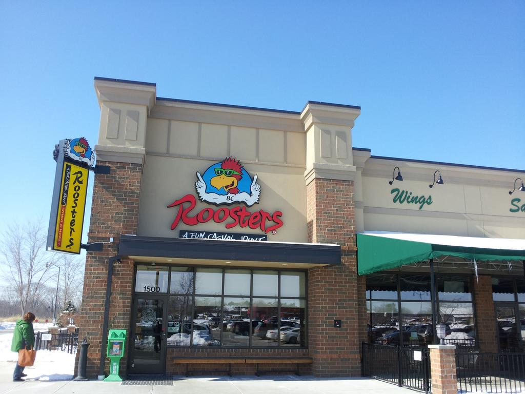 Roosters First New Build Restaurant Opened In A Strip Center Pickerington Last Year The