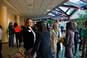 Attendees network before the Nashville Business Journal's 2014 Women of Influence awards luncheon Tuesday at the Renaissance Hotel.