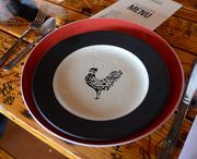 Even the dishes are awesome.