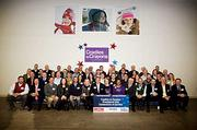 Participants at the 2014 Cradles to Crayons event in Boston's Brighton neighborhood.