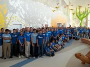 Education: Medium companies Deloitte LLP  Deloitte Columbus office employees spent Impact Day 2012 helping out at Nationwide Children's Hospital.  At a glance: Volunteers: 200 Top charity 2012: Nationwide Children's Hospital