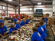 Education: Large companies White Castle System Inc.  White Castle employees participate in Dare to Care, which helps children go to school with adequate nutrition.  At a glance: Volunteers: 175 Top charity: Autism Speaks