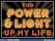 You Power & Light up my life  Tweet your #KCvalentines ideas to @KCBizJournal, and share the Kansas City love.