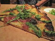 Black mission fig and prosciutto pizza from Matchbox Mosaic.