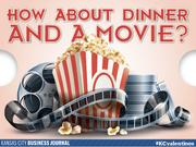 How about dinner and a movie?  Tweet your #KCvalentines ideas to @KCBizJournal, and share the Kansas City love.