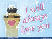I will always love you  Tweet your #KCvalentines ideas to @KCBizJournal, and share the Kansas City love.