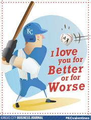I love your for better or for worse  Tweet your #KCvalentines ideas to @KCBizJournal, and share the Kansas City love.