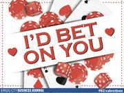 I'd bet on you  Tweet your #KCvalentines ideas to @KCBizJournal, and share the Kansas City love.