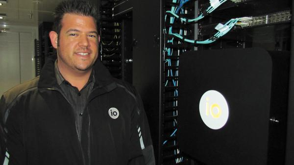 Jon Lind is business development manager for IO, which opened a data center in Springboro.