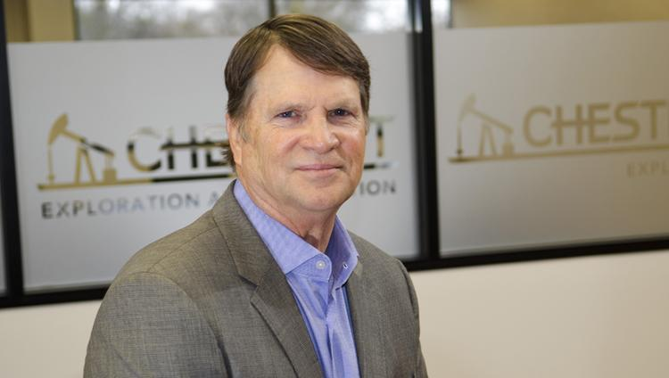 Mark Plummer, 59, owner of Chestnut Exploration & Production, acquired 10,250 acres in oil and gas reserves last year.