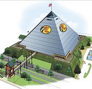 In 2011, Memphis officials issued $215 million in bonds to fund the new Bass Pro Shops location in the city's iconic Pyramid.