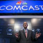 Comcast CEO <strong>Roberts</strong>: Remain calm, no monopolies here (Video)
