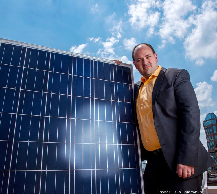 Microgrid's Rick Hunter is shifting his focus outside of St. Louis for solar projects.