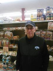 Jerry Gordon, owner of Eddie's in Charles Village, says the grocer has enough bread to last through Thursday.
