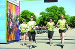 Companies focus on fitness with relay teams in Colfax Marathon