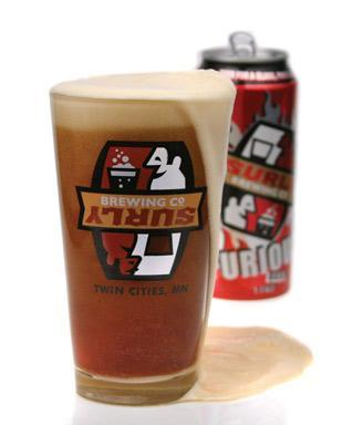Surly Brewing Co.'s Furious is one of three beers now being served on Sun Country Airlines.