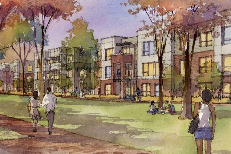 The Dublin Planning and Zoning Commission will consider a Casto Communities plan for 329 apartments off Tuller Road in the Bridge Street corridor.