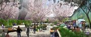 This is a rendering of what a plaza would look like outside the downtown arena for the Sacramento Kings.