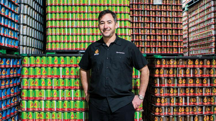 Michael McGovern, Co-founder, partner at Austin Beerworks.