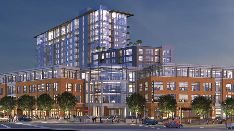An updated rendering of Southern Land's Green Hills project.