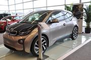 The 2014 BMW i3 is the carmaker's first-ever electric car.