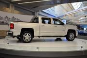 The 2014 Chevrolet Silverado High Country come standard with a s 4.3L EcoTec3 V6 engine and offers 305 lb-ft of torque.