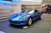 The 2014 Corvette Stingray has an SAE-Certified 460 horsepower engine with 465 lb-ft of torque.