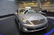 The 2014 Equus is Hyundai's latest move into the luxury car world. Competing against the BMW 7-series, the Equus retails for more than $61,000. The model debuted in Asia in 1999 and came to the U.S. in 2011.