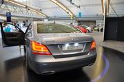 Hyundai started its move into the luxury division in 2008 with its Genesis model. Demetri Sboukis, exhibit manager for Hyundai, said while the luxury market is more of a niche than the mass appeal of the company's best-selling Sonata and Elantra models, it's been fast-growing for Hyundai.