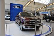 The new 2015 Ford F-150 features a high-strength steel frame and high-grade military strength aluminum alloy body.