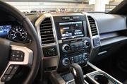 The interior of the 2015 Ford F-150.