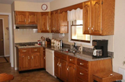 23863-116ac East Camp Creek Road: The kitchen is shown.