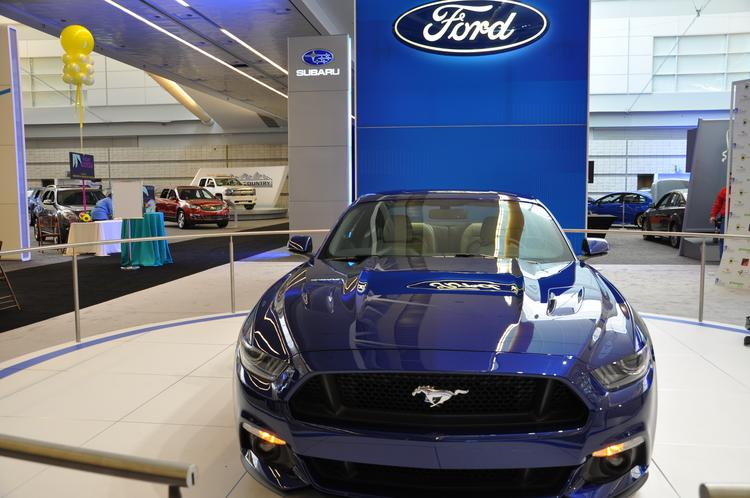 The 2015 Ford Mustang is all-new from the ground up, according to Mark Schaller, Mustang product marketing manager for Ford. Schaller said the car maintains some of the classic features the model has had over its 50-year life, but has a modern, fresh look.