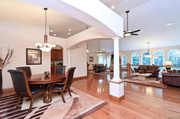 18433 Mooreland Court: The home features an open concept.