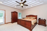 18433 Mooreland Court: One of the bedrooms.