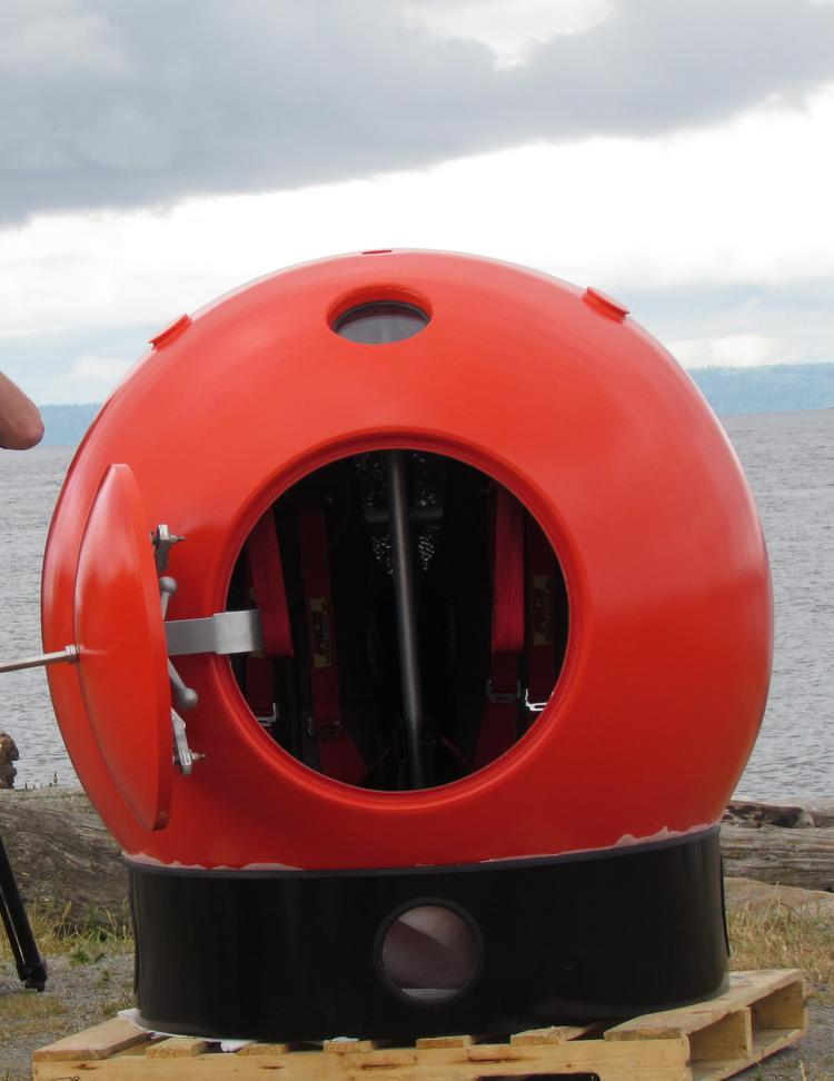 Tsunami Survival Capsules Shipped To Japan By Seattle-area