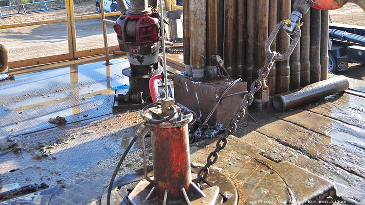 A newly completed oilwell in the Eagle Ford Shale.