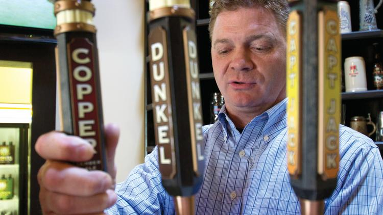 John Marrino is the founder of Olde Mecklenburg Brewery in Charlotte.
